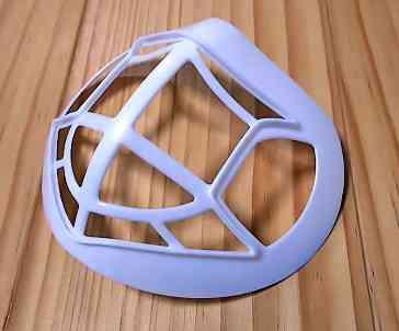 Mask placket